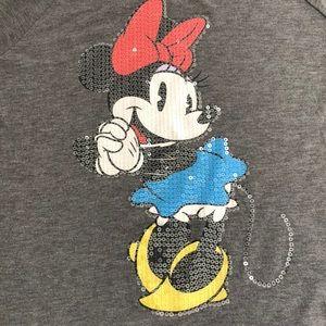 Disney Tops - Disney Minnie Mouse Sequin Top